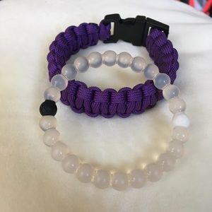 Lokai and Paracord Bracelets